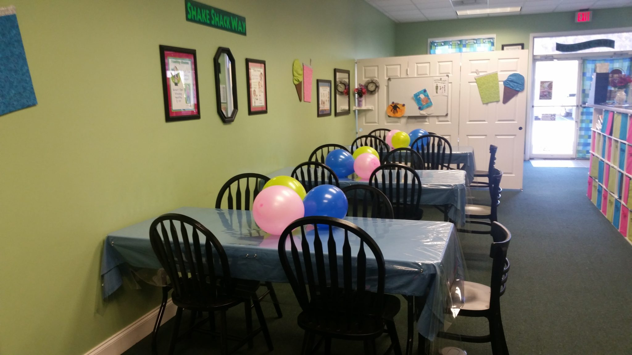 Birthday Parties at The Shake Shack